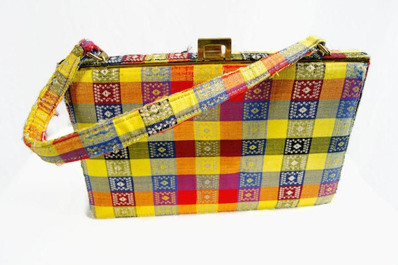 Vintage Nicholas Reich Purse Bag Handbag 1960s To… - image 4