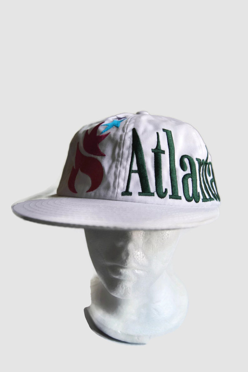 593809eacff Atlanta USA Olympic Games Collection By Starter 1996 Hat Cap Snapback  Adjustable... Atlanta USA Olympic Games Collection By Starter 1996 Hat Cap  Snapback ...