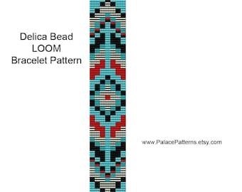 Bead Loom Bracelet Pattern - Tribal 30