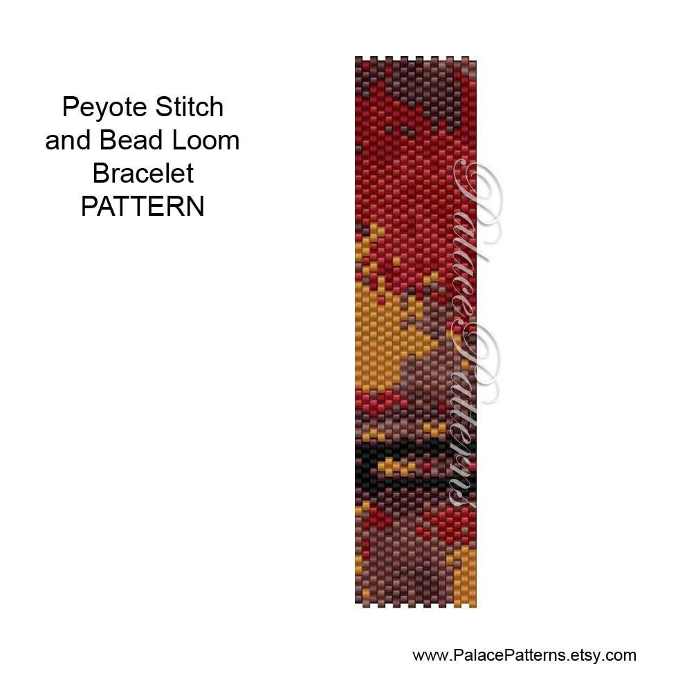 Seed Bead Loom Patterns Amazing Decorating Design