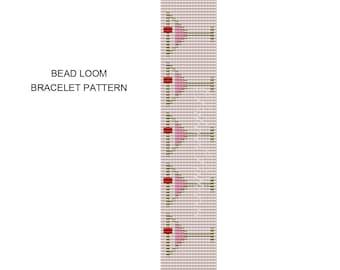 Loom Bracelet Pattern – Martini