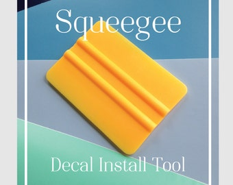 Squeegee Vinyl -  Decal install tool