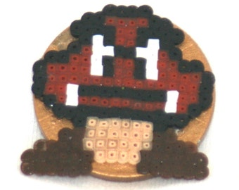 Super Mario Goomba Mushroom Poker Card Protector/ Paper Weight **FREE Domestic SHIPPING**