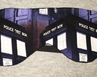 Doctor Who Hi Def TARDIS Sleep/Eye Mask **FREE Domestic SHIPPING**