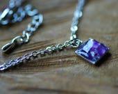 Amethyst Bracelet for Women, February Birthstone Bracelet, Amethyst Jewelry, Dainty Silver Bracelet, Delicate Bracelet, Bridesmaid Gift