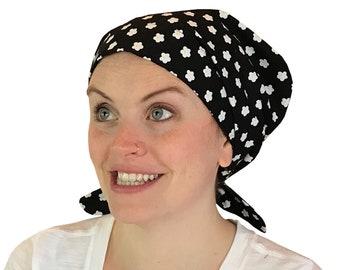 Women's Surgical Scrub Cap, Scrub Hat, Cancer Head Scarf, Chemo Headwear, Alopecia Head Cover, Head Wrap, Cancer Gift, Hair Loss