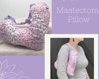 Floral Mastectomy Pillow, Lumpectomy Pillow, Post Mastectomy, Breast Cancer Gifts