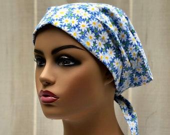 Scrub Caps For Women, Nurse Gift, Daisy Scrub Hats