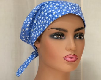Scrub Caps For Women, Nurse Gift, Daisy Scrub Hat