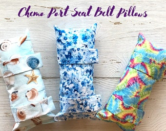 Seat Belt Port Pillows