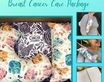 Get Well Care Package, Post Mastectomy, Breast Cancer Gifts, Calico Cats