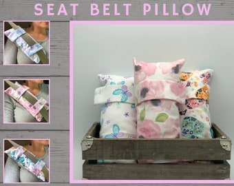 Seatbelt Pillow, Thinking Of You, Get Well Gift