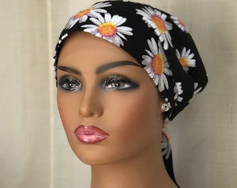 Fall Head Scarf For Women With Hair Loss, Breast Cancer Gifts, Chemo Head Wrap