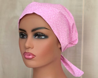 Scrub Caps For Women, Nurse Gift, Scrub Hats Pink Vines