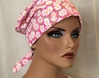 Scrub Caps For Women, Nurse Gift, Daisies Scrub Hats