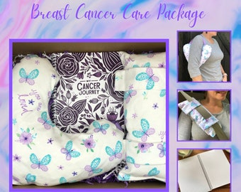 Breast Cancer Care Package, Post Mastectomy, Get Well Gift