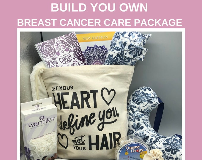 Featured listing image: Build Your Own, Breast Cancer Care Package For Women, Breast Cancer Gifts