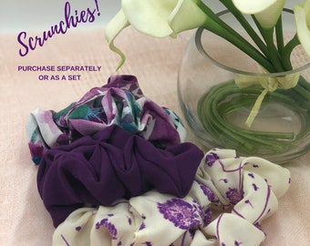 Silky Hair Scrunchies, Birthday Gift For Daughter, Scrunchies Pack