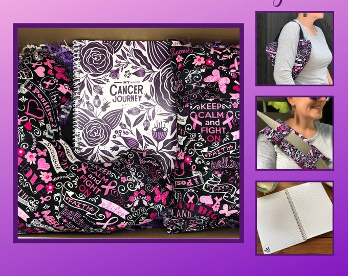 Featured listing image: Get Well Care Package, Breast Cancer Gifts, Breast Cancer Awareness