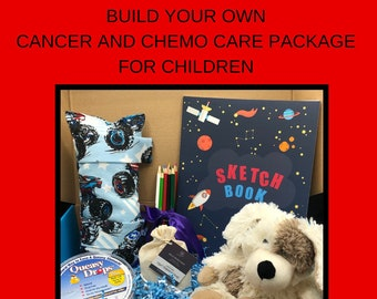 Build Your Own, Get Well Care Package For Boys, Childhood Cancer, Cancer Gifts