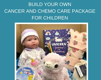 Build Your Own, Get Well Care Package For Girls, Childhood Cancer, Cancer Gifts