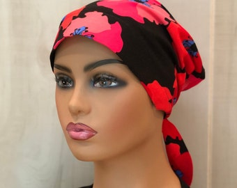 Fall Chemo Head Wrap For Women With Hair Loss, Breast Cancer Gifts, Chemo Headwear