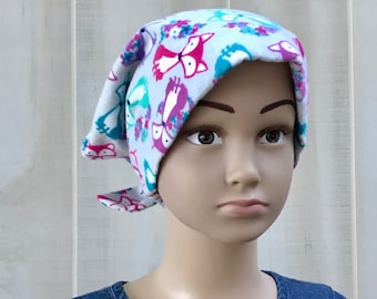 Toddler's Chemo Hat For Girls With Hair Loss, Childhood Cancer, Cancer Gifts