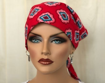 Head Scarf For Women With Hair Loss, Cancer Gifts, Chemo Headwear, Headwrap, Southwestern