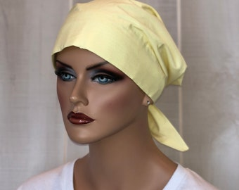 Scrub Caps For Women, Nurse Gift, Scrub Hats, Yellow