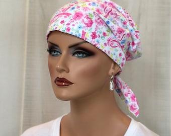 Scrub Caps For Women, Nurse Gift, Scrub Hats, Breast Cancer Awareness, Pink Ribbon