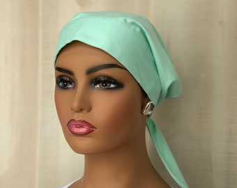 Scrub Caps For Women, Nurse Gift, Scrub Hats, Mint Green