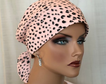 Head Scarf For Women With Hair Loss, Breast Cancer Gifts, Animal Print Head Wrap