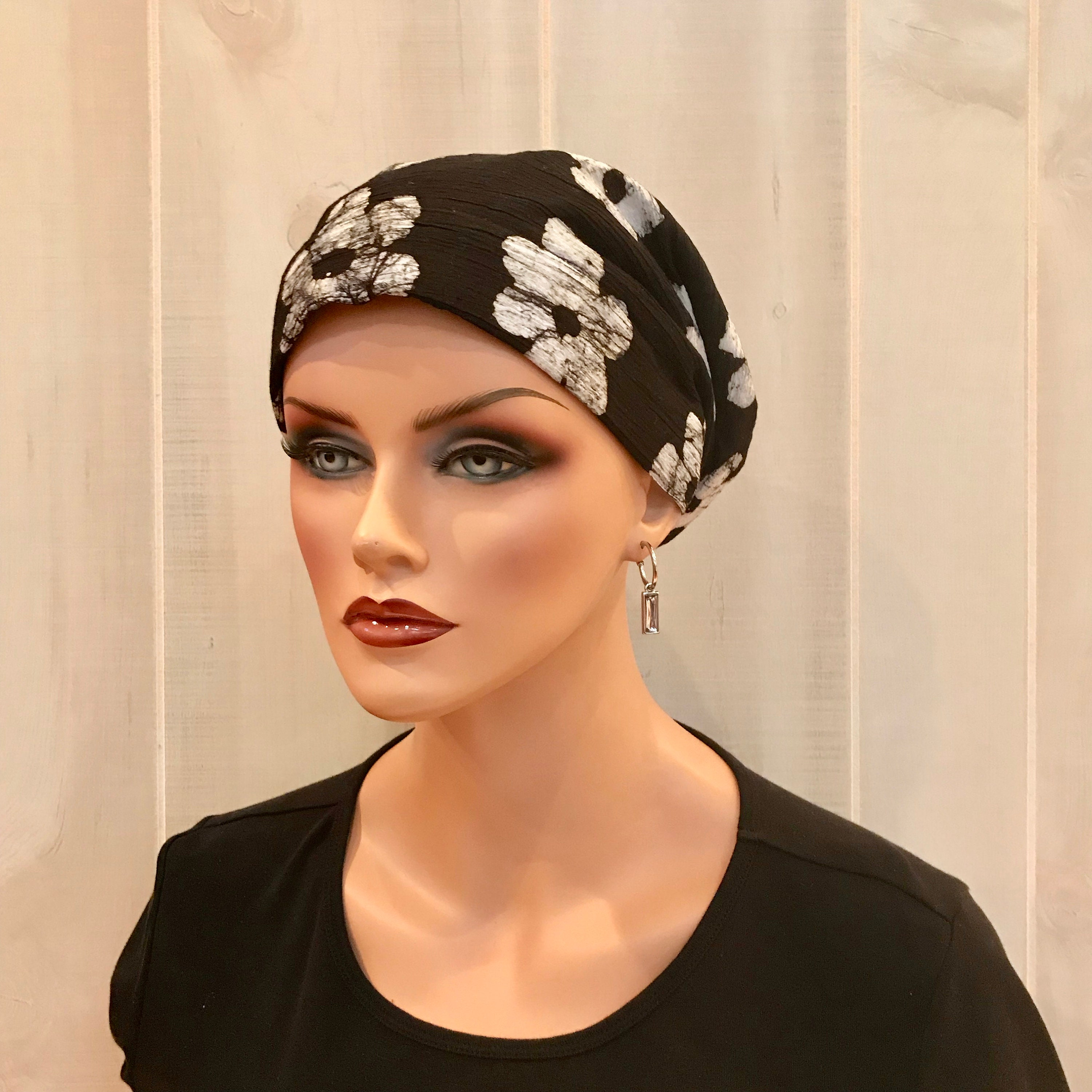 04e9512d3252f Women's Head Scarf, Cancer Headwear, Chemo Hat, Alopecia Head ...