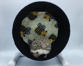 Wheel Cover, Bees, with Waterproof back, for Hedgehogs, Rats, and other Small Animals