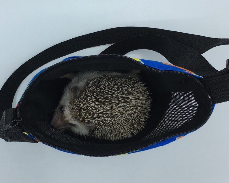 and other Small Animals Sugar Gliders for Hedgehogs Deluxe Carry Bag Rats Blue Pokemon Waterproof