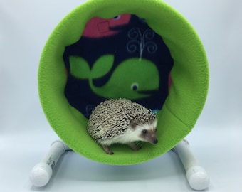 Wheel Cover, Whale Fleece, with Waterproof back, for Hedgehogs, Rats, and other Small Animals