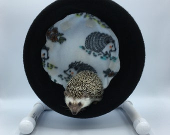 Wheel Cover, Lined Hedgehogs, with Waterproof back, for Hedgehogs, Rats, and other Small Animals