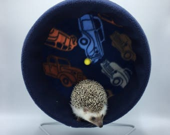 Wheel Cover, Cars Fleece, with Waterproof back, for Hedgehogs, Rats, and other Small Animals