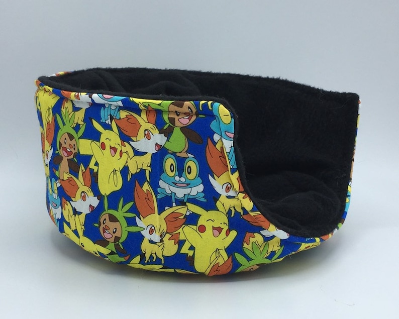 Cuddle Cup rats and other small animals Pikachu for hedgehogs Blue Pokemon Cotton guinea pigs
