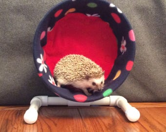 Wheel Cover, Polka Dots and Flowers, with Waterproof back, for Hedgehogs, Rats, and other Small Animals