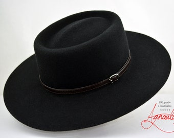 52b221893fc Wide brim hat men