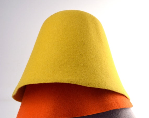 Premium Wool Felt Hat Bodies - Cones