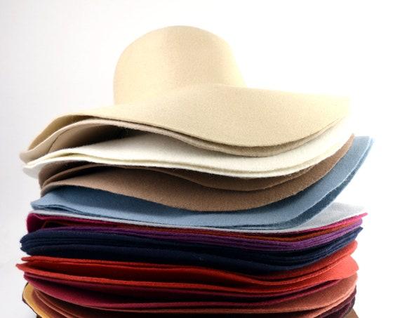 Premium Wool Felt Hat Bodies - Cappellines