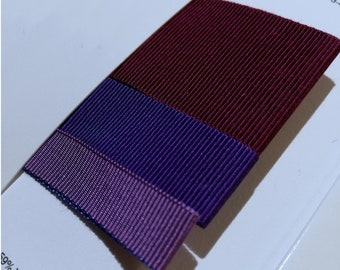 Hat Making Grosgrain Ribbon | Viscose Cotton | 25 yards | Sold By The Spool