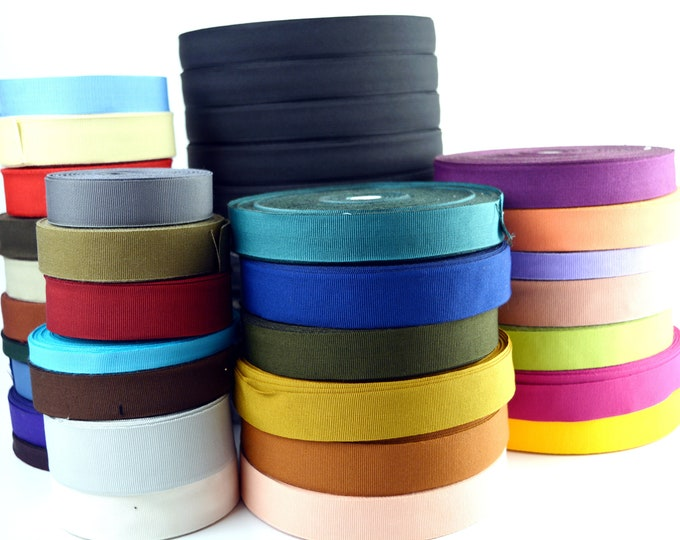 Hat Making Grosgrain Ribbon | 25 yards | Sold By The Spool