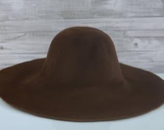Dark Brown | Velour | Rabbit Fur Felt Hat Bodies | Capelines