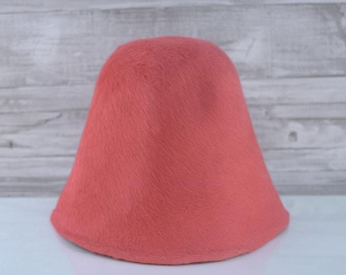 Chili Red | Long Hair | Rabbit Fur Felt Hat Bodies | Melusine Cones