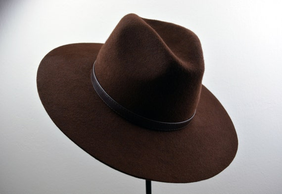 330272165ca6a The Mono Wool Felt Handmade Outdoor   Western   Fedora Hat