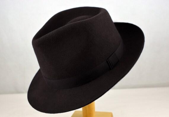 Fedora The Freddie Wool Felt Fedora Hat for Men Women  549021519406