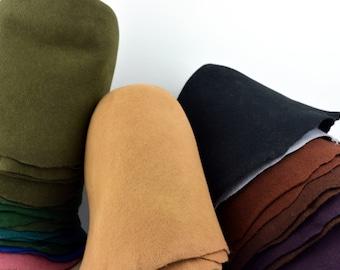 Standard Wool Felt Hat Bodies - Cones